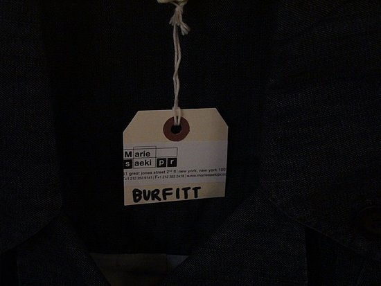In The Showroom: Burfitt Spring 09