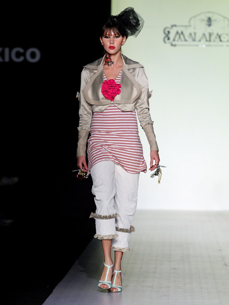Mexico Fashion Week: Malafacha Spring 2009