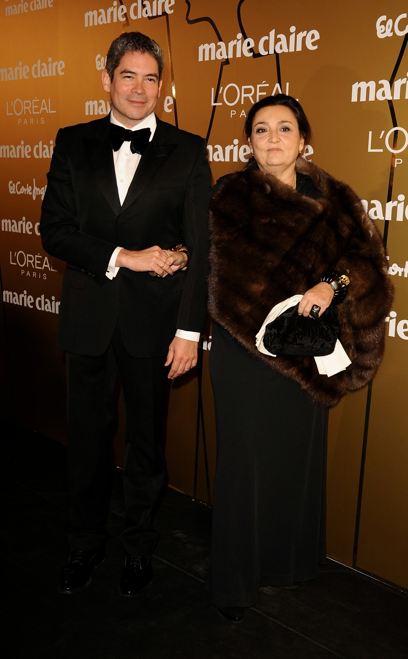 Boris Izaguirre and Elena Benarroch