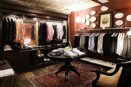 Retail Interiors: Billy Reid New York