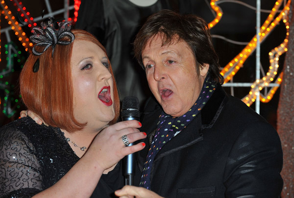 Peter Kay, Sir Paul McCartney