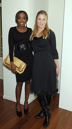 Singer Estelle, actress Natacha Regnier
