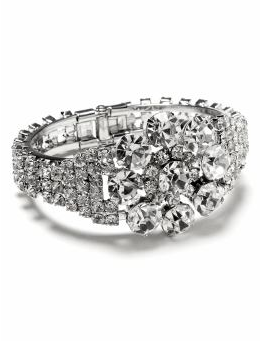 Sparkle Hinged Bracelet $49, Banana Republic