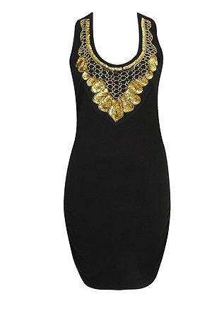 Maritess Sequin Dress $27.80, Forever 21