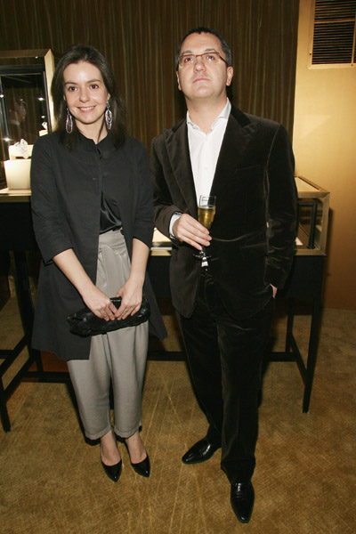 Editor-in-Chief for Vanity Fair, Spain Lourdes Garzon and Editor-in-Chief for Vanity Fair, Italy Luca Dini