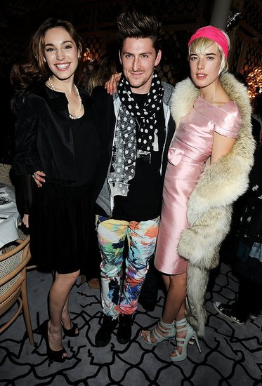 Kelly Brook, Henry Holland, Agyness Deyn