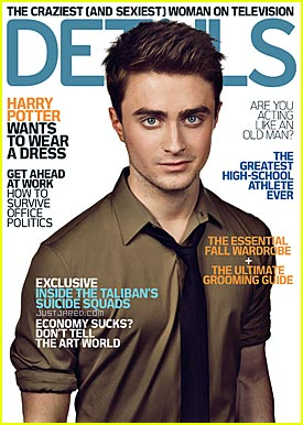 "Daniel Radcliffe - ""Details"" October 2008"
