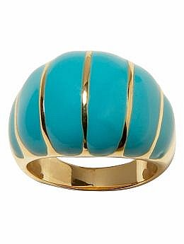 Women&#039;s Apparel: Enamel striped ring: jewelry | Banana Republic