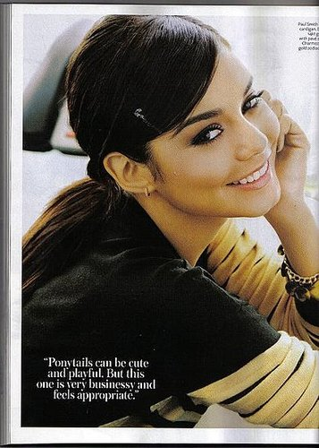 Vanessa Hudgens is 'InStyle'