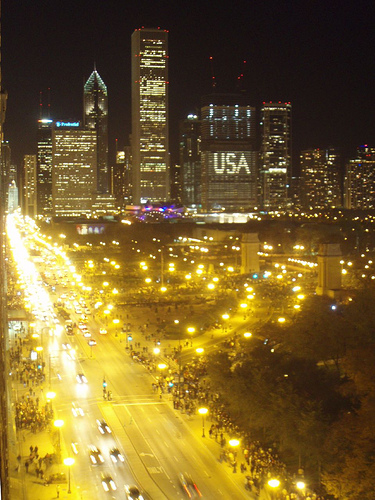 I WAS THERE: The Grant Park Rally
