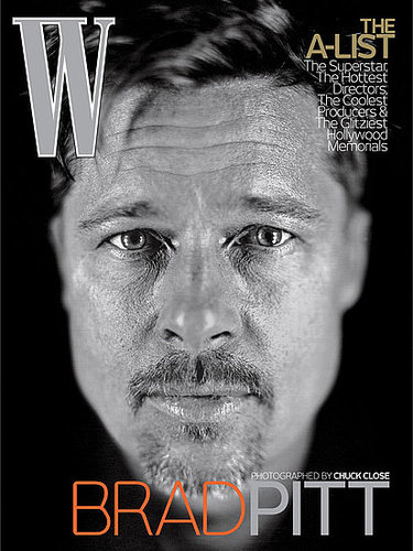 Brad on the Cover of W