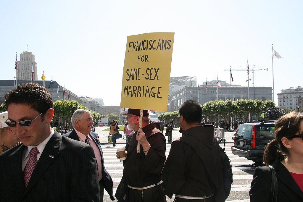 Franciscan for Gay Marriage