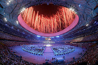 Pictures of the Opening Ceremony of the 2008 Olympics