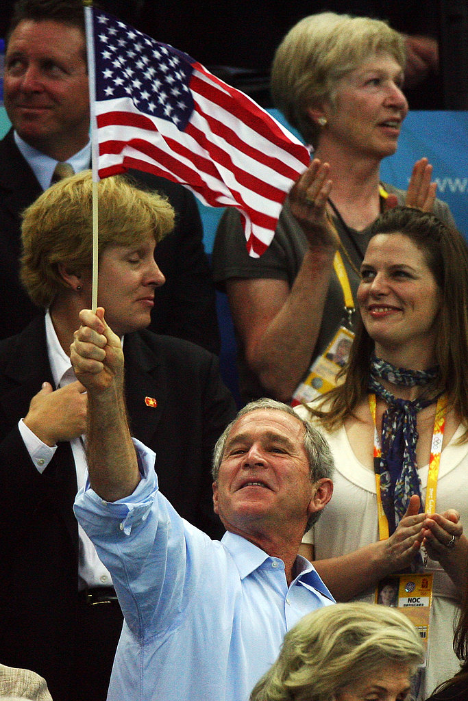 President Bush Cheers on American Athletes!