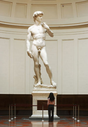 Mama Mia! Michelangelo's David Could Topple Over!