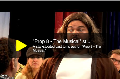 Prop 8 — The Musical: Starring Jack Black as Jesus