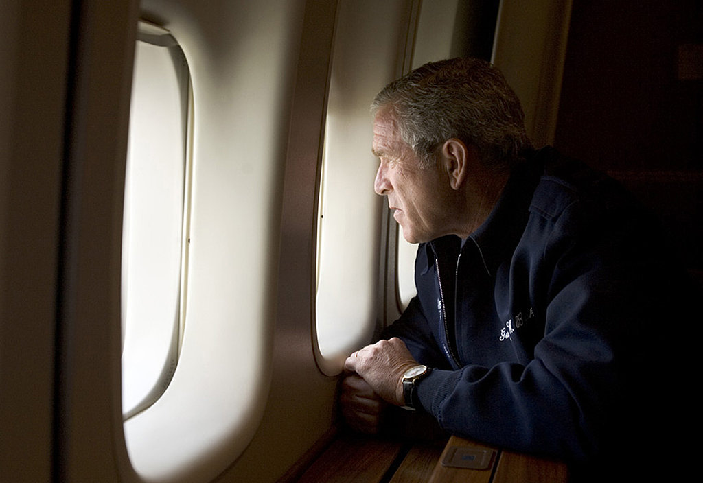 2005: Bush Reacts to Hurricane Katrina