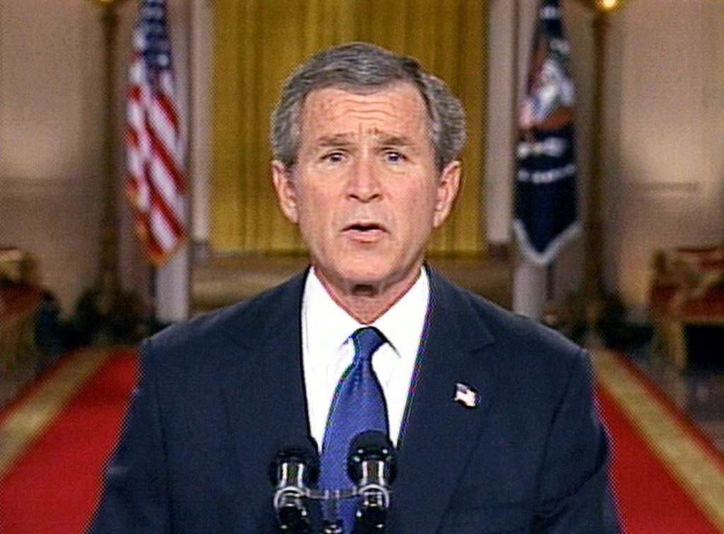2003: Bush Invades Iraq After Saddam Ultimatum