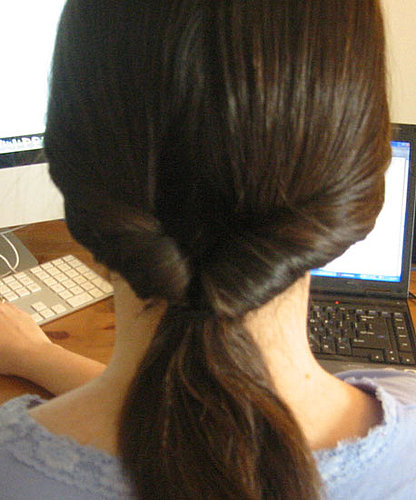 How-To: Create a Looped Ponytail in Two Minutes