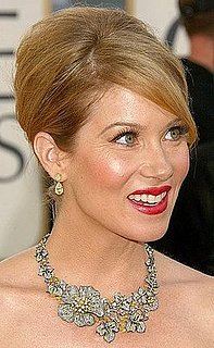 Christina Applegate at the Golden Globes