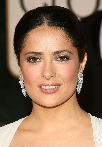 Salma Hayek's Makeup at the 2009 Golden Globes