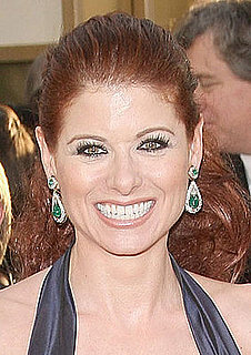 Debra Messing's Makeup at the Golden Globes