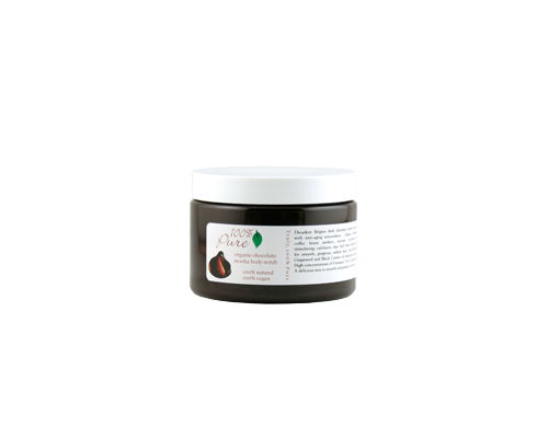 100% Pure Organic Chocolate Mocha Body Scrub
