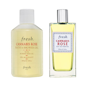 Monday Giveaway! Fresh Cannabis Rose EDP and Bath and Shower Gel