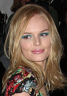 Kate Bosworth wears green eye shadow at the Costume Institute Gala