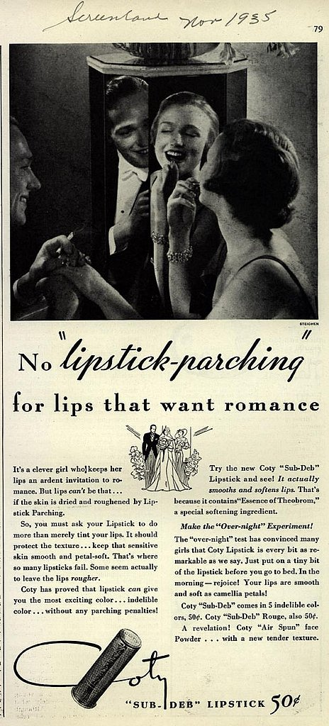 For lips that want romance.