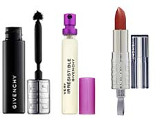 Thursday Giveaway! Givenchy Phenomen'Eyes Mascara, Rouge Interdit Shine Lipstick, and Very Irresistible Givenchy to Go