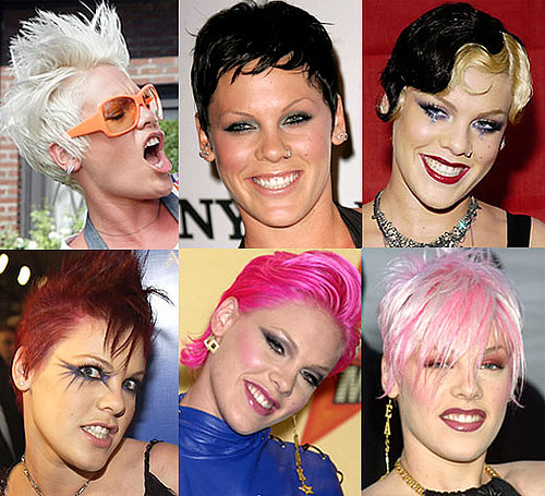 Pink's Hair Color