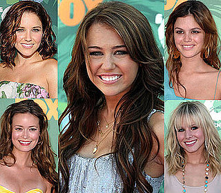 Trend Alert: Tousled Waves at the Teen Choice Awards
