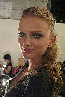 Hair and Makeup at Alex Wang 2009 Spring Fashion Week