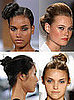 Buns on the Runway During Spring 2009 Fashion Week