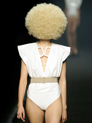 Wild and Crazy Hair at Spring 2009 Paris Fashion Week