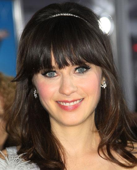 Zooey Deschanel New Girl Makeup