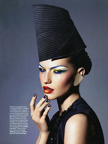 Russian Vogue Gets an Eyeful of Color
