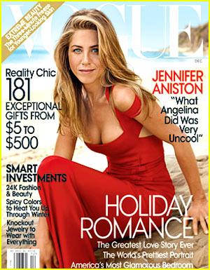 "Jennifer Aniston - ""Vogue"" December 2008"