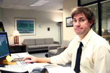 Jim Halpert Makes the PC Hot