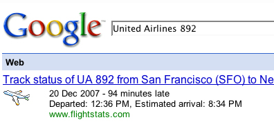 Google Your Flight