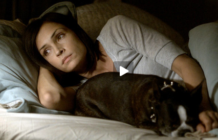 Super-Cute Video: Dogs and the Women Who Love Them (featuring Famke Janssen and Licorice!)