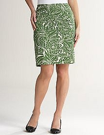 Chrysanthemum Pencil Skirt