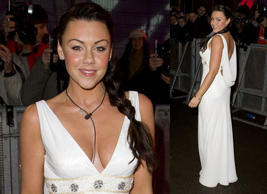 20/01/2009 Michelle Heaton Celebrity Big Brother Eviction 3
