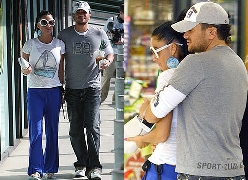 Photos of Jordan aka Katie Price and Peter Andre Arriving in LA