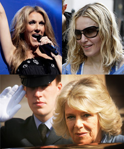 Sugar Bits — Madonna, Celine and Camilla Are Family