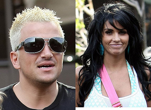 Pop Poll on Jordan/Katie Price and Peter Andre's Hair Colour