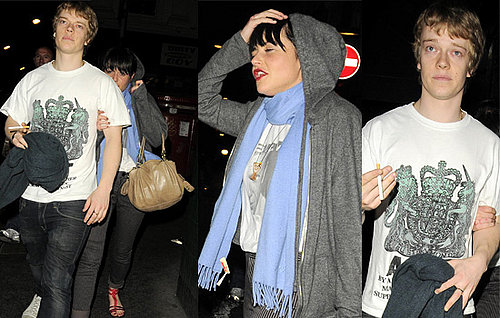 Alfie Allen And Jaime Winstone Out At The Groucho In London