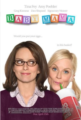 UK Review Of Baby Mama Starring Tina Fey, Amy Poehler, Steve Martin and Greg Kinnear