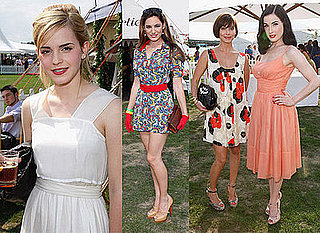 Photos Of Emma Watson, Kelly Brook, Natalie Imbruglia And Dita Von Teese At Cartier Polo Tournament